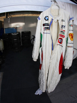 Combinaison de Alex Zanardi, BMW Team Italy-Spain