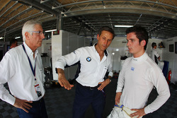 Roberto Ravaglia, ITA, Team Manager, BMW Team Italy-Spain et Sergio Hernandez, BMW Team Italy-Spain