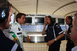 Augusto Farfus, BMW Team Germany et Charly Lamm, GER, Team Manager, BMW Team Germany / Schnitzer