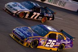 Jamie McMurray, Roush Fenway Racing Ford, Sam Hornish Jr., Penske Racing Dodge