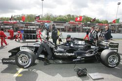 Earl Bamber, driver of A1 Team New Zealand