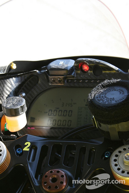 Detalle de Tech 3 Yamaha
