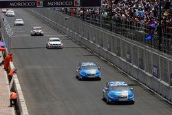 Nicola Larini, Chevrolet, Chevrolet Cruze et Alain Menu, Chevrolet, Chevrolet Cruze