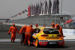 Jordi Gene, Seat Sport, Seat Leon 2.0 TDI en difficulté