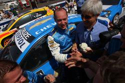 Nicola Larini, Chevrolet, Chevrolet Cruze and Robert Huff, Chevrolet, Chevrolet Cruze