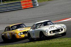 #153 Ferrari 250 GT Berlinetta 1961: Ellerbrock, Saft (D); #168 Alfa Romeo 1750 GTAM 1971: Lembo (F)
