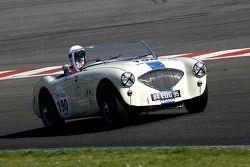 #190 Austin Healey 100 M 1956: Auzanneau, Brun (F)