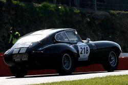 La Jaguar Type E 1964 N°218 : Berstein (D)
