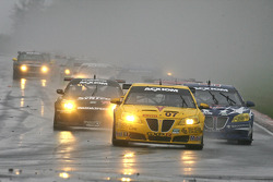 GT start: #07 Banner Racing Pontiac GXP.R: Kelly Collins, Paul Edwards leads the field