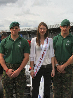 Forces Childrens Trust grid girl and friends
