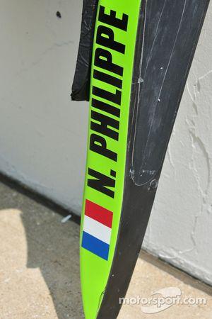 L'appui-tête de Nelson Phillipe, HVM Racing