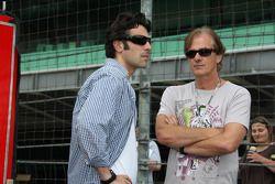 Dario Franchitti, Target Chip Ganassi Racing avec Arie Luyendyk