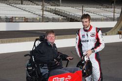 Sam Schmidt et James Hinchcliffe