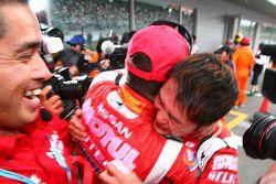 GT500 winners Satoshi Motoyama and Benoit Treluyer