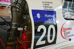 Starboat BRP N°20 classe 3 : Franck Mercken, Jules Phalippou, Cyrille Dron, Bertrand Lefebvre