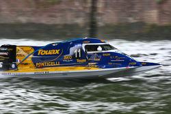 #11 class 3 Team Touax: Fabrice Boulier, Philippe Lecomte, Nicolas Ottmann, Philippe Jouen