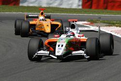 N°11 International Draco Racing: Bertrand Baguette, N°4 Ultimate Motorsport: Miguel Molina