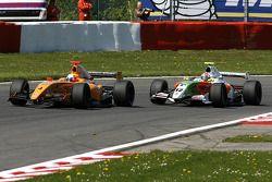 N°4 Ultimate Motorsport: Miguel Molina, N°12 International Draco Racing: Marco Barba