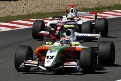 N°12 International Draco Racing: Marco Barba, N°2 Tech 1 Racing: Charles Pic