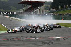 Départ: N°12 International Draco Racing: Marco Barba, N°21 Epsilon Euskadi: Adrian Valles