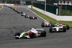 N°11 International Draco Racing: Bertrand Baguette, N°5 P1 Motorsport: James Walker