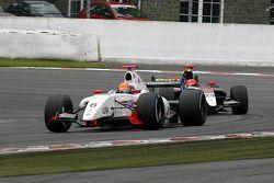 N°6 P1 Motorsport: Daniil Move, N°23 Pons Racing: Marcos Martinez