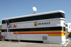 Renault F1 Team motorhome