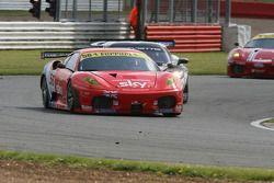 #56 CRS Racing Ferrari 430 GT2: Andrew Kirkaldy, Rob Bell