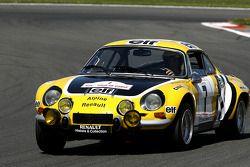 Une célèbre voiture de rallye: Alpine Renault A 110