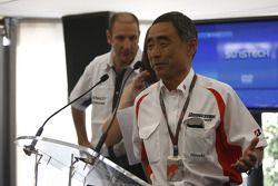 Hiroshi Yasukawa, Director of Bridgestone Motorsport