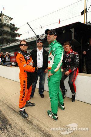 Danica Patrick, Andretti Green Racing, Tony Kanaan, Andretti Green Racing, Marco Andretti, Andretti Green Racing et Michael Andretti