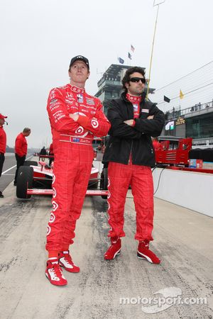 Scott Dixon, Target Chip Ganassi Racing, Dario Franchitti, Target Chip Ganassi Racing