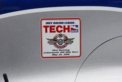 Sticker d'inspection technique