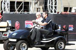Roger Penske et Tony George