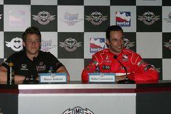 Conférence de presse : Marco Andretti, Andretti Green Racing et Helio Castroneves, Team Penske