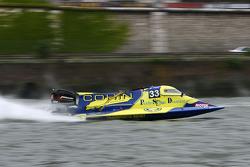 Ixe TeamN°33 classe 2 : Laurent Chevalier, Rodolphe Gibeaux, Franck Thieulent