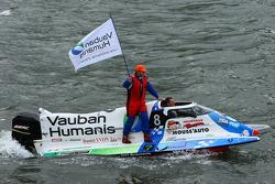 #8 class 3 Team Vauban Humanis: Christophe Boyard, Xavier Savin, Christophe Poulain