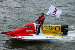 Team TC4 Casino de Forges N°9 classe 3 : Bruno Crouin, Rémy Demante, Albert Simson, Rodolphe Avenel