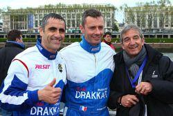 Drakkar Inshore N°66 classe 1 : Fanny Chiappe, Laurent Jalabert, Igor Auriant, Filipe Castro