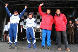 Troisième place, Tech Motor Racing N°16 classe 3 : Marc Roig, Jean Pierre Bersoult, Jean-Vital Deguisne, Cédric Deguisne