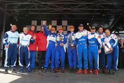 Vainqueur, Drakkar Inshore N°3 classe 3 : Franck Revert, Philippe Dessertenne, Duarte Benavente, Pierre Lundin