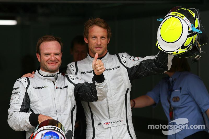 Rubens Barrichello, Brawn GP ve Pole: Kazanan Jenson Button, Brawn GP
