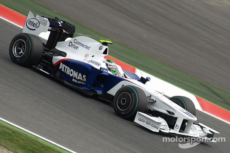 2009: BMW-Sauber F1.09 (два подиума, 6-е место в КК)