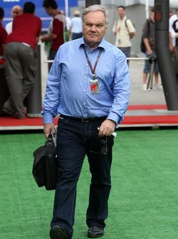 Patrick Head, directeur de l'ingénierie de Williams F1