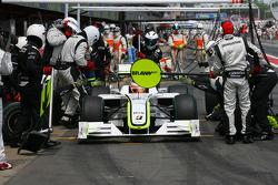 Рубенс Баррикелло, Brawn GP, пит-стоп