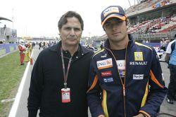 Nelson Piquet with Nelson A. Piquet