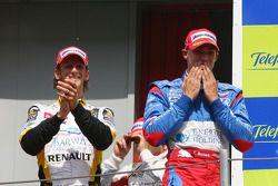 Edoardo Mortara et Romain Grosjean
