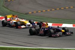 Sebastian Vettel, Red Bull Racing, Fernando Alonso, Renault F1 Team