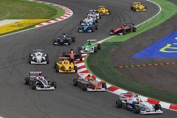 Départ, Jack Te Braak, Muecke Motorsport, Timmy Hansen, Muecke Motorsport et Facu Regalia, Josef Kaufmann Racing