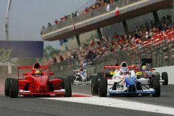 Jack Harvey, Fortec Motorsport et David Mengesdorf, Eifelland Racing
